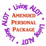Amended Personal Package